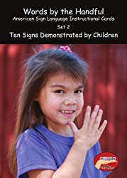 American Sign Language/ Baby Sign Language Cards - Ten Signs Demonstrated By Children. Set 2