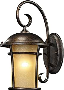 Elk Lighting 17-Inch Bolla Vista 1-light Outdoor Wall Sconce, Regal Bronze