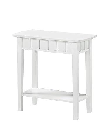 Convenience Concepts Dennis End Table, White