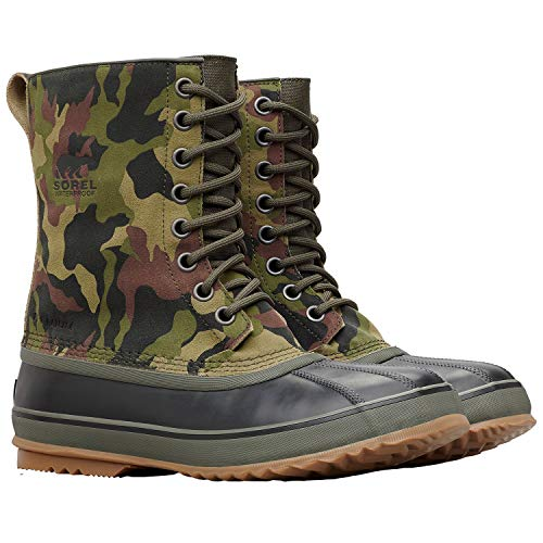 SOREL 1964 Premium T Camo Boot - Men's Alpine Tundra/Black, 9.0