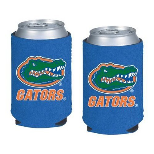 NCAA Florida - Neoprene Pocket Coolies (2) | UF Gators Collapsible Beverage Insulators - Set of - Collapsible Florida Ncaa Gators