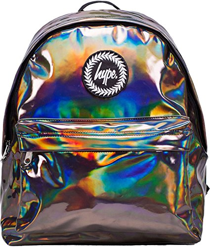 Hype Hombre Blackberry Fade Backpack, Púrpura Holographic Coffee