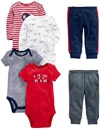 Baby Boys' 6-Piece Little Character Set