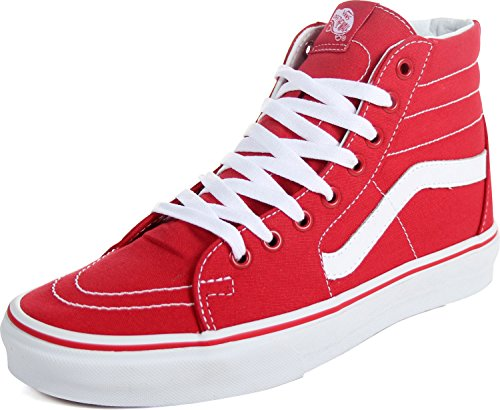 Vans Unisex Sk8-Hi (Canvas) Formula One Skate Shoe 10 Men US / 11.5 Women US