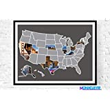 US Travel Photo Map