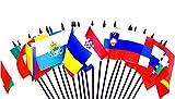 Southeast Europe World Flag SET%2D20 Pol