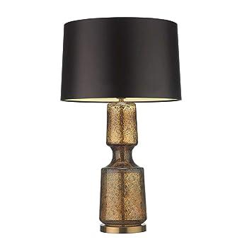 Lámpara de mesa de cristal salón dormitorio estudio mesa ...