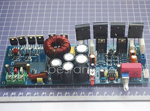 FHZ 200W Mono-Channel Power Amplifier Board DC 12V 2 Pair 52