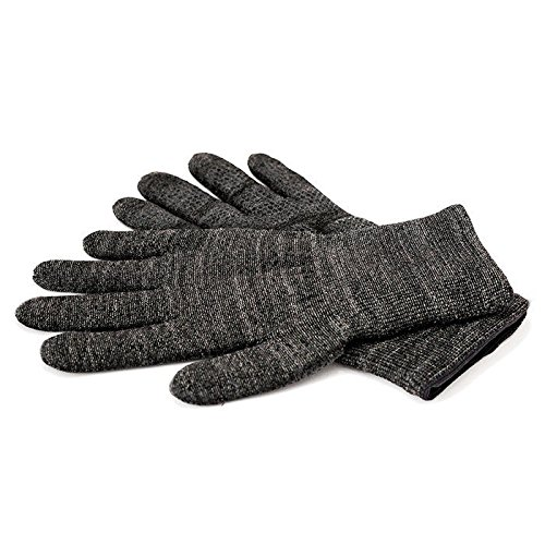 GliderGlove Copper Infused Touch Screen Gloves - Entire Surface Works on iPhones, Androids, Ipads, & Tablets - Anti Slip Palm for Driving & Phone Grip - Maintain Dexterity While Staying Warm