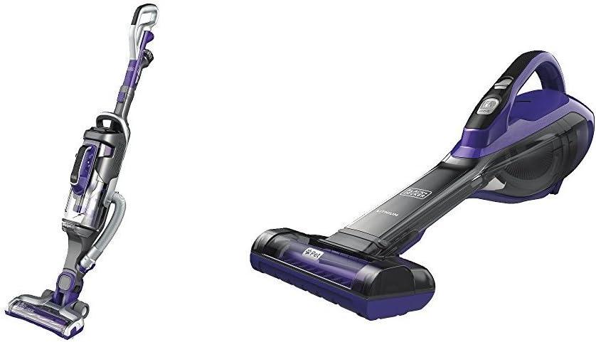 BLACK+DECKER POWERSERIES PRO Cordless Lithium 2in1 Pet Stick Vacuum and Pet Hand Vacuum