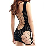 Sleepwear, FTXJ Women for Sex Fishnet Chemise Hot Review and Comparison