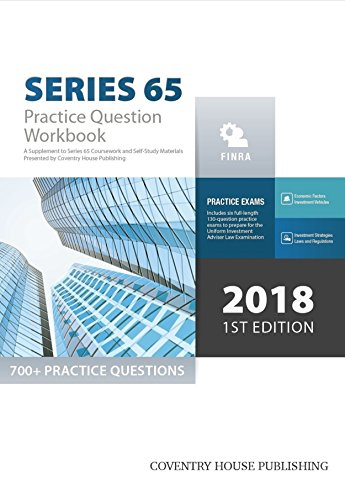 Series 65 exam practice question workbook 700 comprehensive series 65 exam practice question workbook 700 comprehensive practice questions 2018 edition fandeluxe Image collections