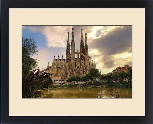 Framed Print of Sagrada Familia (Basilica and Expiatory Church of the Holy Family) By Antoni by Fine Art Storehouse