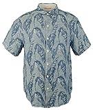 Tommy Bahama Men's Help Me Fronda Linen Camp Shirt-OD-S