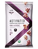 Living Intentions Activated Superfood Popcorn, Gluten Free, Vegan, Organic, Berry Smoothie, 4 Ounce