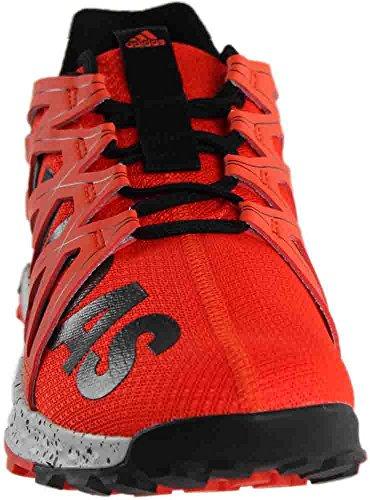 adidas Performance Men's Vigor Bounce m Trail Runner, Energy/Black/White, 11.5 M US