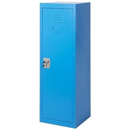 Bon Merax SMART Kids Metal Storage Locker For Home And School, 48 Inch (Blue