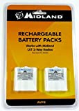 Genuine Original Midland BATT6R AVP8 Rechargeable Replacement Battery for LXT Walkie Talkie for CXT240, CXT250, CXT280, LXT320, LXT340, LXT360, LXT380, LXT420, LXT480, LXT490, LXT500, LXT560