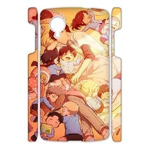 Printed Phone Case Attack on Titan For Google Nexus 5 Q5A2111875