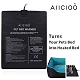 Aiicioo Pet Bed Warmer Pet Heating Pad Turns Your Pet Bed into Heated Dod Bed & Cat Bed - Safe Low Volt Operation