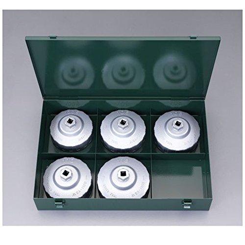 【キャンセル不可】DN87424 5個組 カップ型オイルフィルターレンチセッ B019GN4WAU