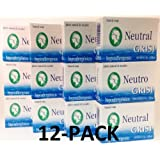 12pk - Neutral Soap - Jabon Neutro - Grisi (3.5 Oz. X 12 Units