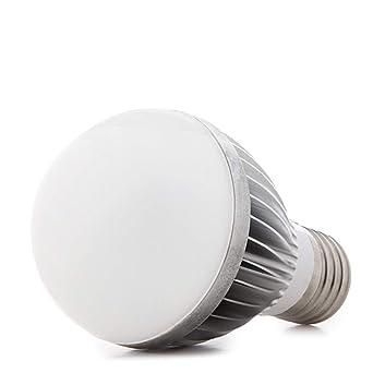 Greenice | Bombilla de LEDs Esférica E27 5W 12VAC/Dc 425Lm 30.000H | Blanco