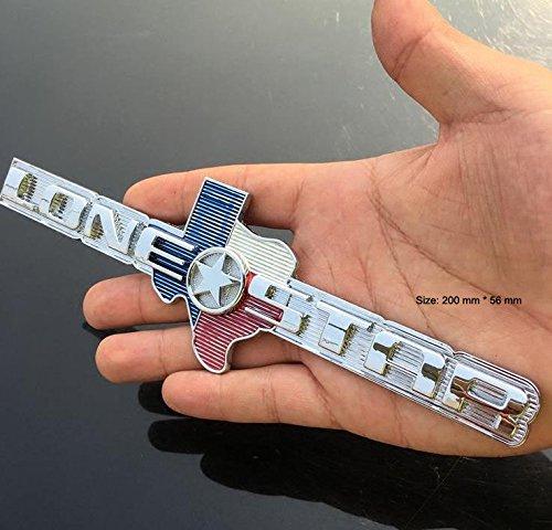 B153 Lone Star Voiture Autocollant 3D Emblè me Insigne Badge Sticker Car Automobile Lettrage Voiture Autocollant Haut New Carsemblème®