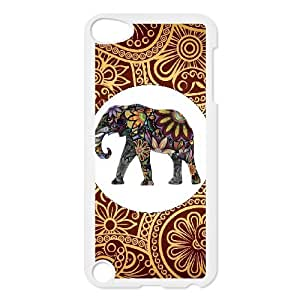 DDOUGS Indian Elephant Customised Cell Phone Case for Ipod Touch 5, Wholesale Indian Elephant Case
