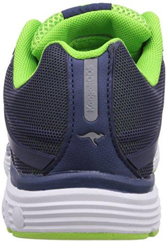 KangaROOS K-Tech 8007 - zapatilla deportiva de material sintético unisex Blau (dk navy/lime 484)