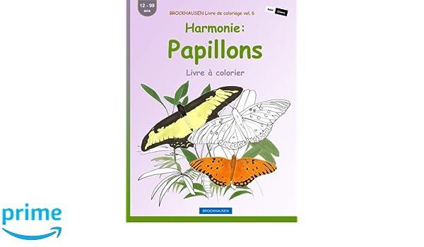 Brockhausen Livre De Coloriage Vol 6 Harmonie Papillons Livre