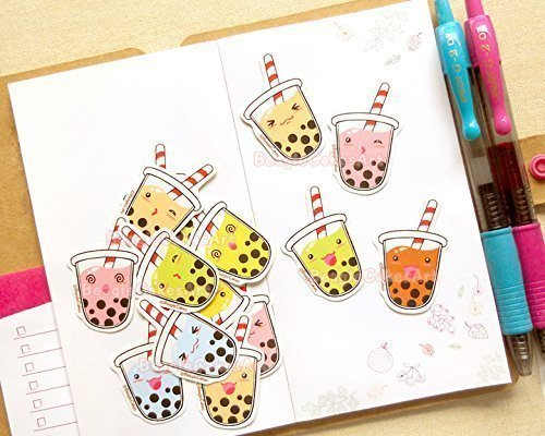 Bubble Tea Stickers. Boba Stickers. Kawaii Stationery. Planner Stickers. Erin Condren Stickers. ECLP. Filofax. Summer Stickers. Tapioca Tea