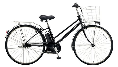 Panasonic(パナソニック) 2018年モデル ティモDX 27インチ BE-ELDT754 電動アシスト自転車 専用充電器付 B078HWXFVNB:ピュアブラック
