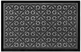 Elogio Door Mat Indoor Outdoor Doormats Outside Effective Scraping of Dirt Patio Grass