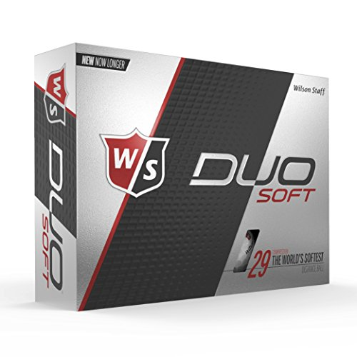 Wilson Staff Duo Soft Golf Balls, White