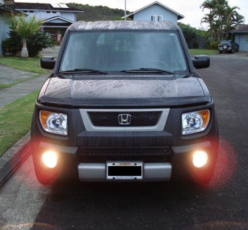 2003-2011 Honda Element Halo Fog Lamps Angel Eye Driving Lights Kit Harness
