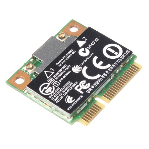 Genuine HP Pavilion Realtek RTL8188CE Half Hight Mini PCI-Express Wireless N WiFi Card 802.11 b/g/n 640926-001 639967-001 by HP