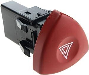 Hazard Warning Switch Red Button Dash For Renault Trafic Espace