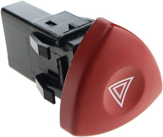 Non Brand 1psc Warnblinker Schalter Warnlicht Knopf 8200442723 FÜr Renault Clio Ii 2 Auto