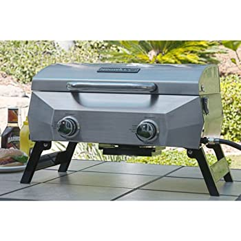 Amazon Com Nexgrill Portable Stainless Steel Gas Grill