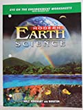 Modern Earth Science, Holt, Rinehart and Winston Staff, 0030643074