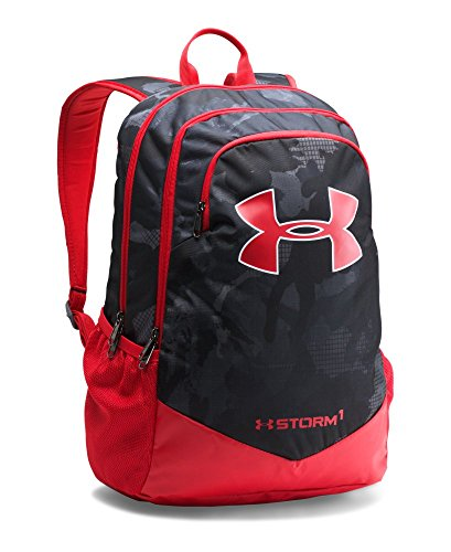Under Armour Boys' Storm Scrimmage Backpack, Black (002), One Size