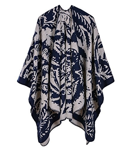 navy Medeshe 6 donna Poncho Blue Series fqxF4gwT