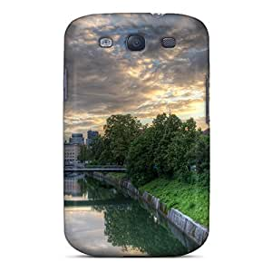 Hot New Ljublana After A Storm Case Cover For Galaxy S3 With Perfect Design