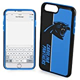 Forever Collectibles iPhone 8+/7+ Dual Hybrid Bold Case - NFL Carolina Panthers