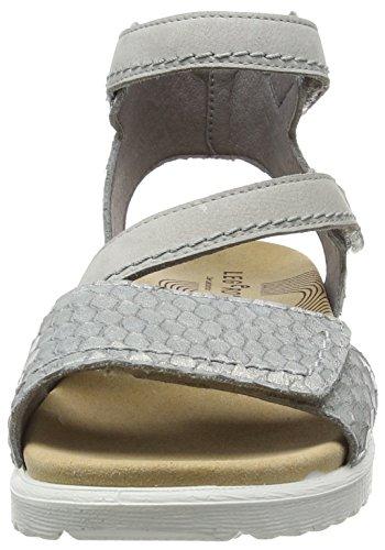 look good shoes sale low cost 100% genuine Legero Savona, Women's Sling Back Sandals, Grey (Cristal 14 ...