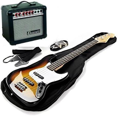 Kit bajo eléctrico Harley Benton completo de amplificador y ...