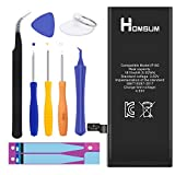 HOMSUM Battery for iPhone 6, with Complete Repair Tool Kits, Glue Adhesive