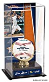 Sports Memorabilia Jose Altuve Houston Astros 2017 AL MVP Sublimated Display Case with Image - Baseball Free Standing Display Cases