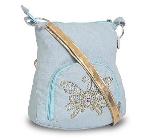 Pick Pocket Girls Sling Bag (Light Blue) (Slbluemb250)